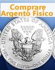 Acquistare monete Argento Fisico