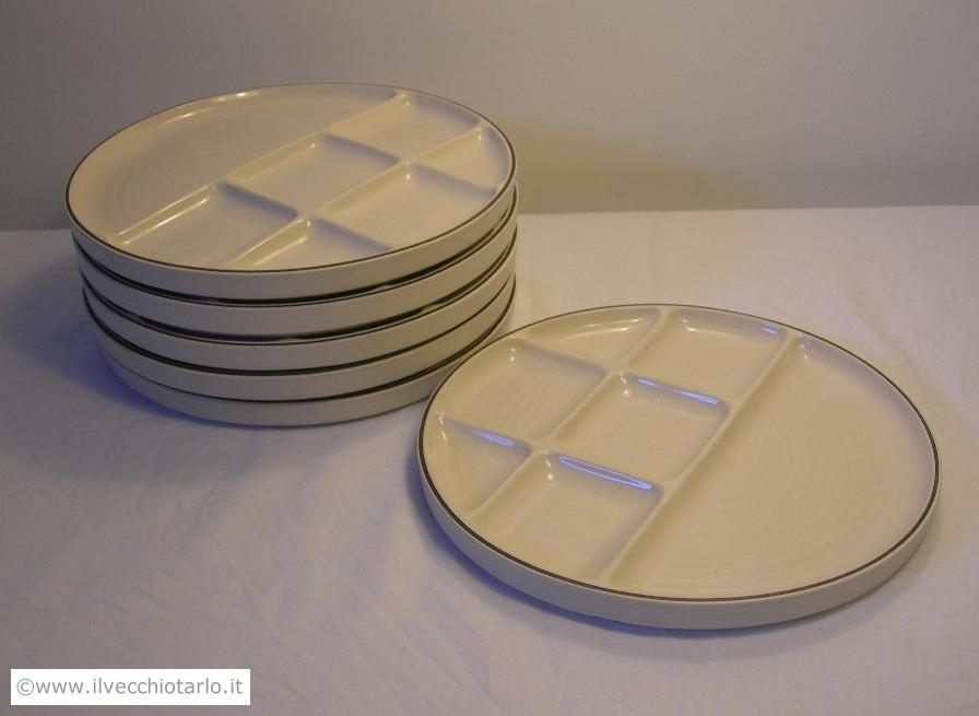 Alto basso ceramiche design ambrogio pozzi ceramica franco - Servizio piatti design ...