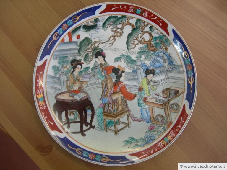 Antiche porcellane cinesi for Piatto cinese