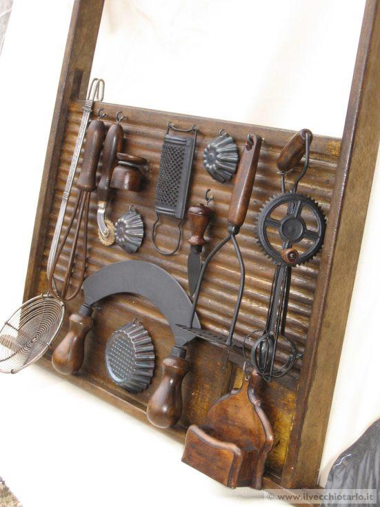 Vecchio asse bucato legno for Regalo mobili vecchi