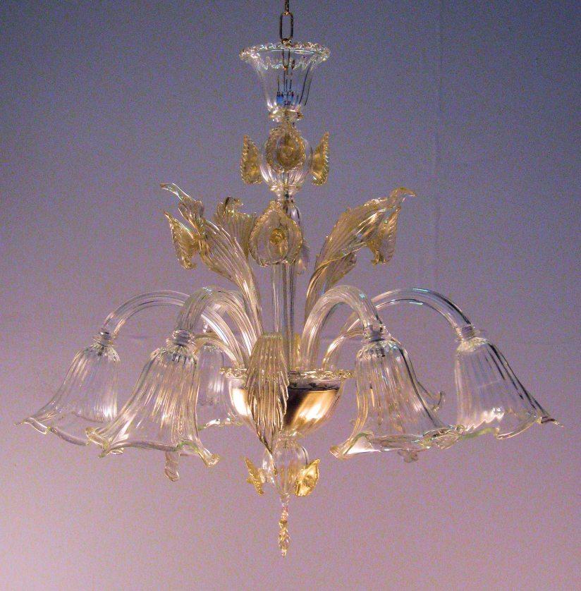 Lampadari Murano classici:arte vetro con lampadari di Murano.
