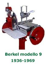 antique Berkel meat slicers