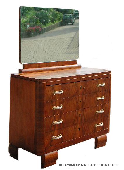 Art dec glossario art dec mobile antico e antiquariato - Art nouveau mobili ...