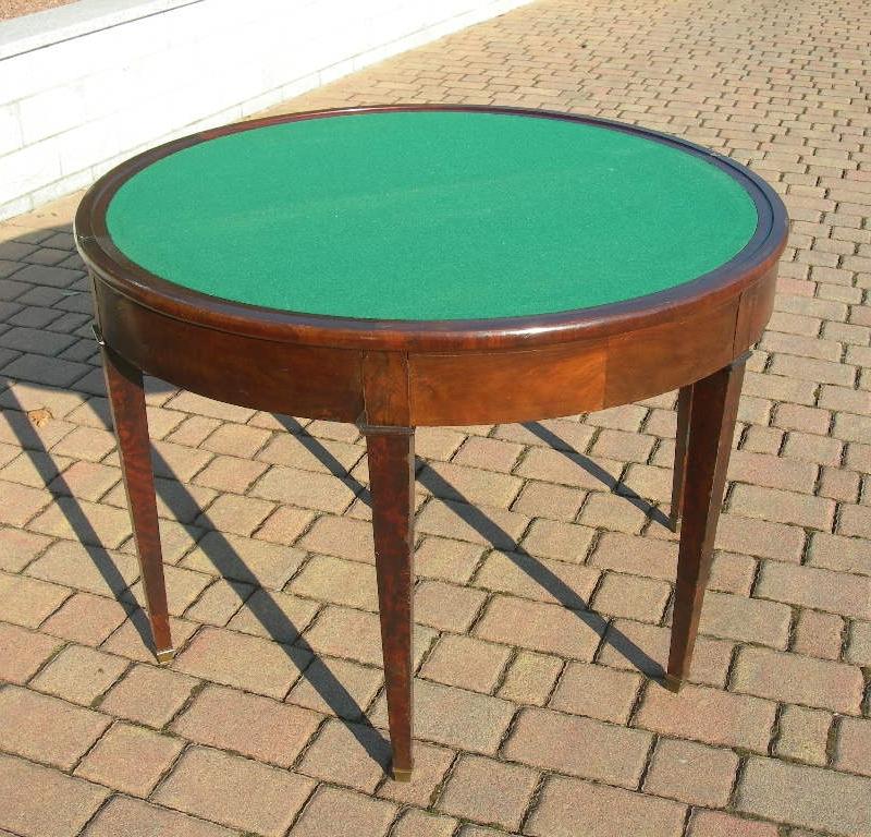 Antica consolle noce trasformabile in tavolo da gioco for Tavolo consolle noce