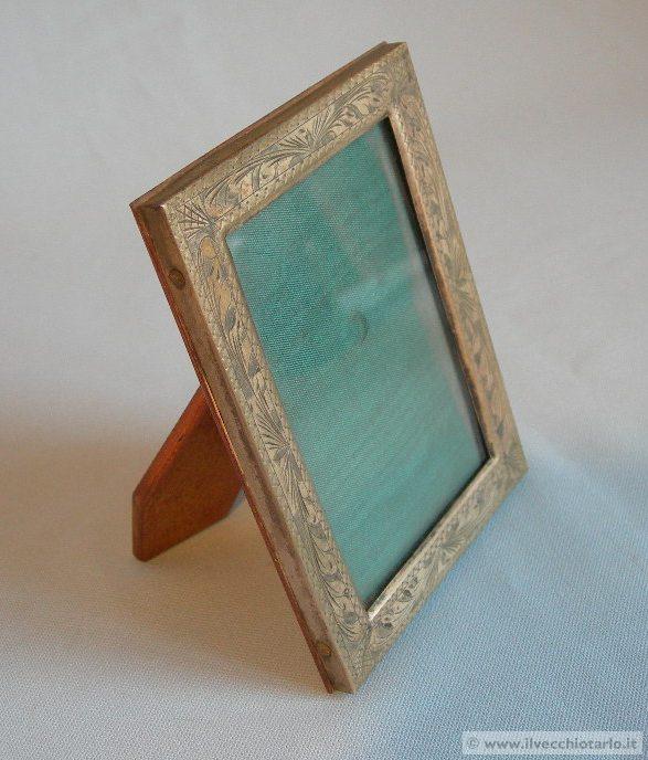Porta ritratti foto antico argento firenze for Portaritratti legno