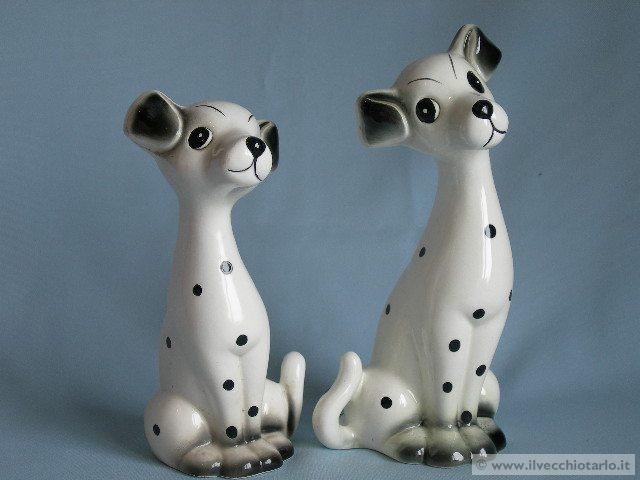 cani ceramica dalmata