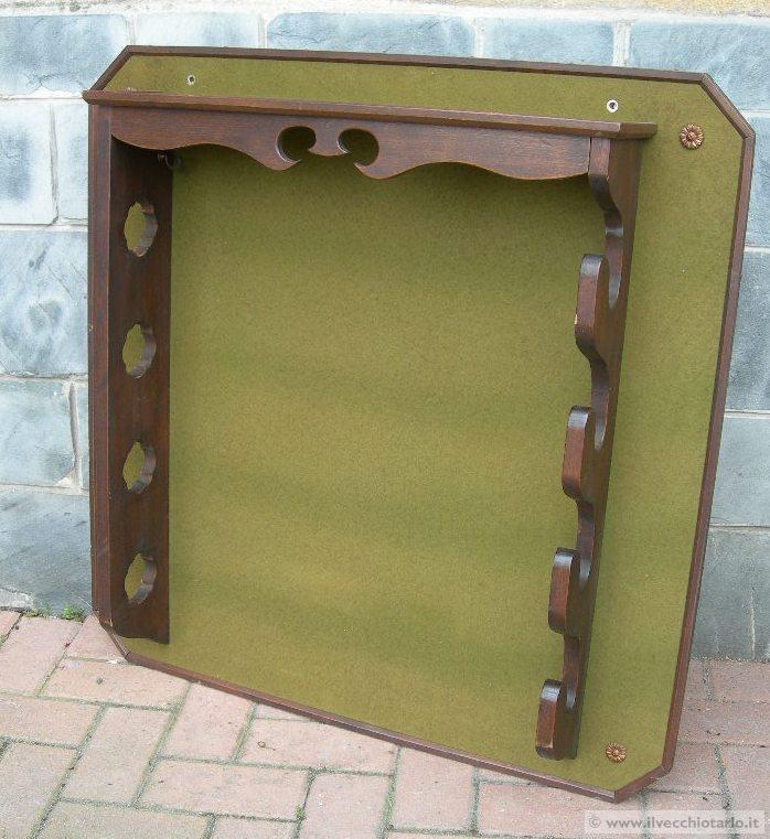Fuciliera vendita fuciliera portafucili in legno antica for Vendita mobili modernariato