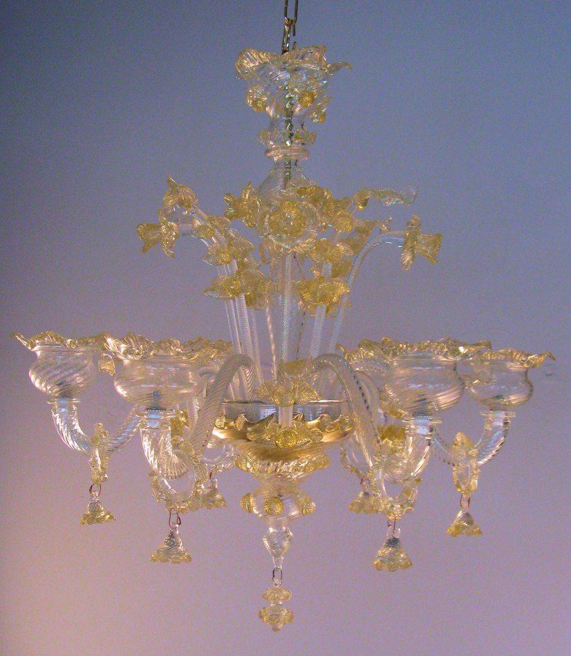 Riproduzione antichi lampadari di murano in vetro -> Riparazioni Lampadari Antichi