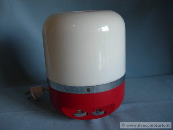 lampadari modernariato : Radiolampada Europhon modernariato anni 70 design Adriano Rampoldi