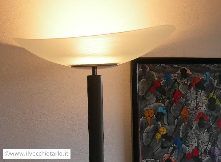 Lampada Vintage Da Terra : Lampada da terra artemide modello tebe design ernesto gismondi