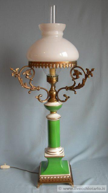 Lampada tavolo antica lampada da tavolo - Lampade da tavolo in ceramica ...