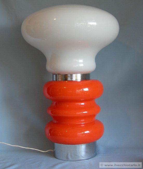 illuminazione anni 70 -> Lampadari Design Modernariato