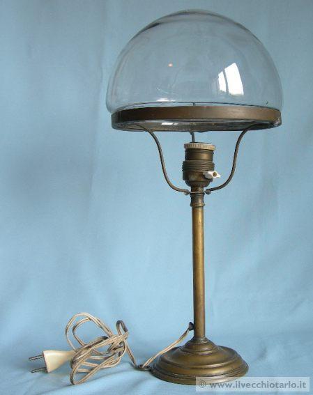 Lampade antiche da tavolo scrivania for Lampade modernariato