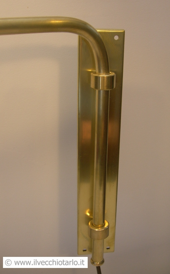 Lampada estensibile da muro originale anni 50 design Stlinovo Arteluce Arredoluce -> Lampadari Design Modernariato
