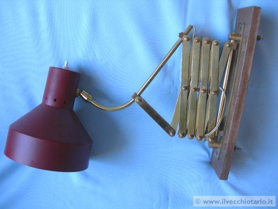 lampada soffietto anni 50 -> Lampadari Design Modernariato