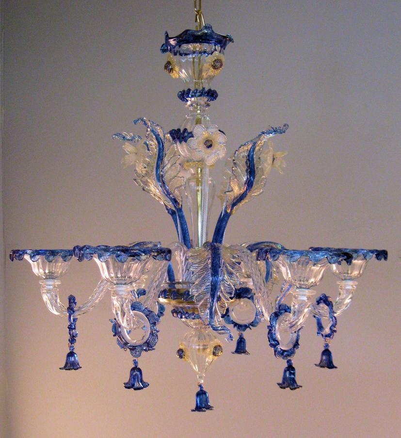Lampadario in vetro lampadari in vetro di Murano classici e design  # Lampadari Classici Vetro Murano