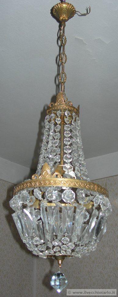 lampadari maria teresa : lampadario cristallo maria teresa