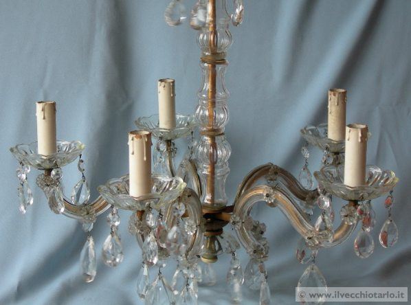 Lampadario Antico Murano : Lampadari murano vecchio lampadario di murano d epoca ca