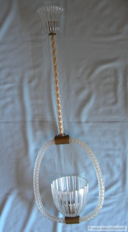 lampadario di murano : antico lampadario di murano vetro veneziano