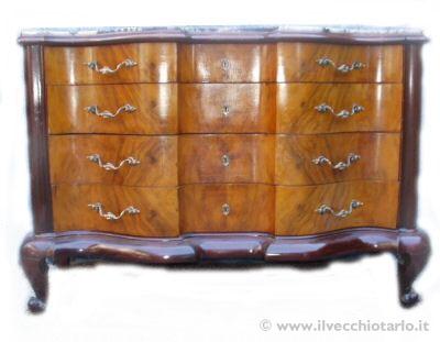 Mobili antichi riconoscere i mobili antichioriginali dai for Stili mobili antichi