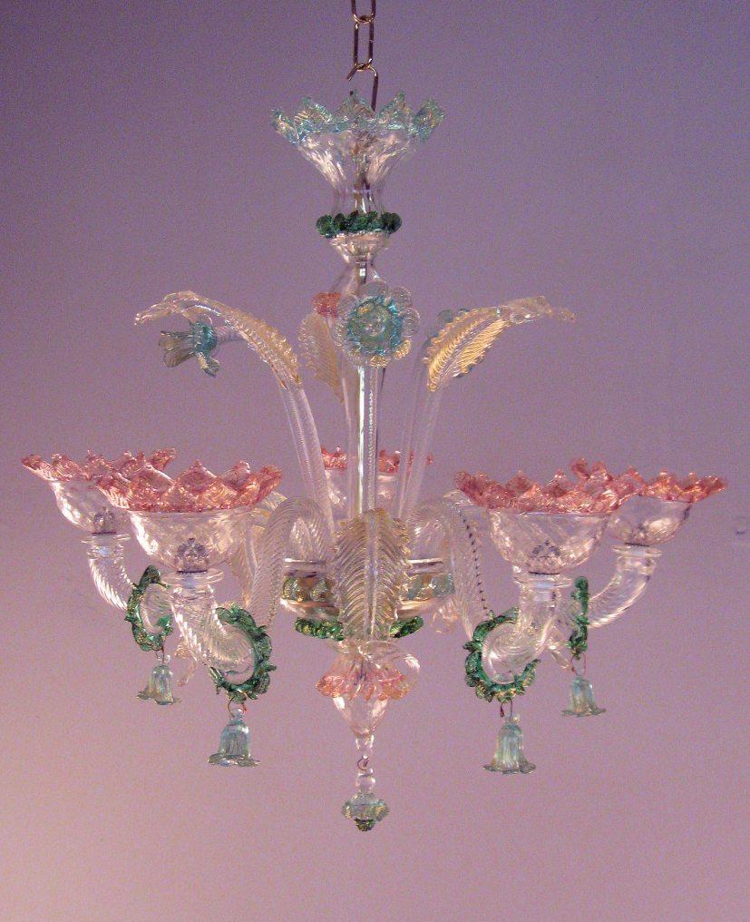 lampadario classico di murano