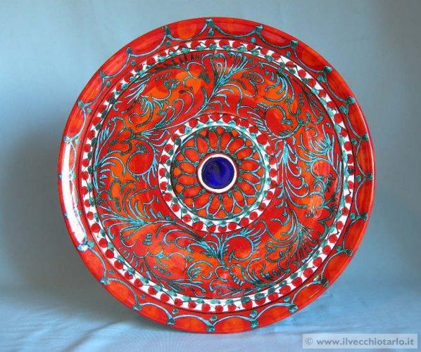 Ceramica siciliana antica xj59 pineglen - Ceramiche santo stefano di camastra piastrelle ...