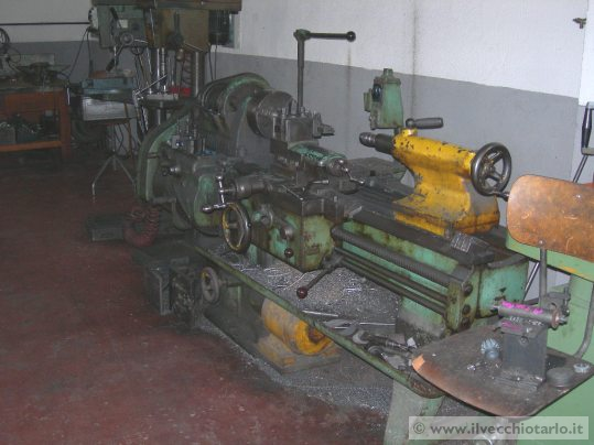 Our old lathe for reconstruction little parts and mechanisms