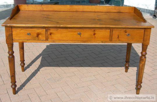 Tavolo scrivania antico scrittoio antiquariato tavolo for Mobili 800 toscano