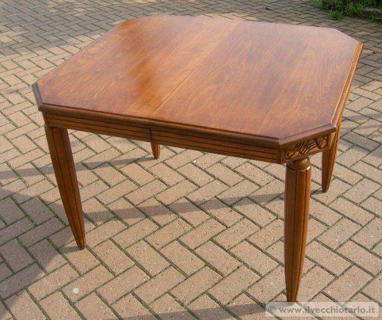tavolo antico allungabile restaurato