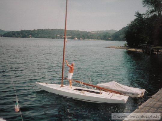 Barca vela epoca star legno usata for Piani di coperta in legno gratuiti